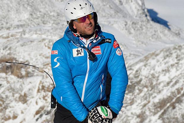 Technik-Gruppentrainer Marco Pfeiffer referierte bei der ÖSV-Trainerfortbildung über die richtige Slalomtechnik. (Alle Fotos: ÖSV)