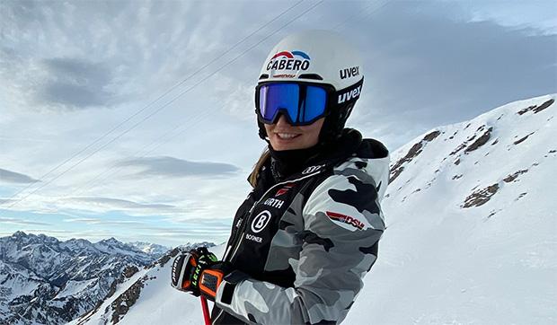 """Meike Pfister im Skiweltcup.TV-Interview: """"Im März will ich wieder normal trainieren können!"""" (Foto: © Meike Pfister / privat)"""