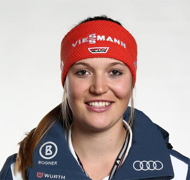 Meike Pfister möchte eine große Skirennläuferin werden. (Foto: Deutscher Skiverband)