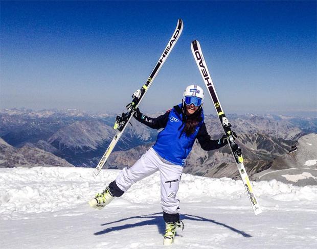 40 Tage dauernde EC-Saison bringt Karoline Pichler Weltcupfixplatz (Foto: FB Pichler)