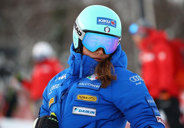 Karoline Pichler will und wird wieder angreifen (© Arichvo FISI/Pentaphoto/Alessandro Trovati)
