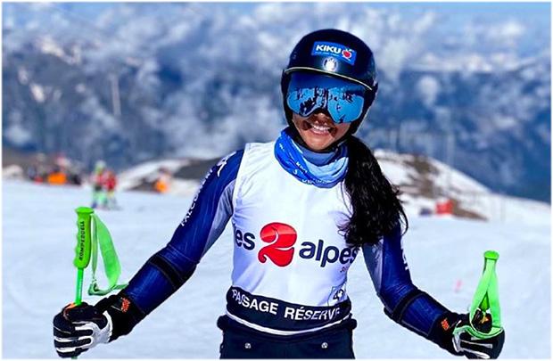 Nicht nur Karoline Pichler war mit dem Trainingscamp in Les Deux Alpes zufrieden. (Foto: © Karoline Pichler / instagram)