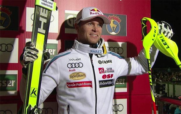 Alexis Pinturault gewinnt Hahnenkamm Kombination 2015