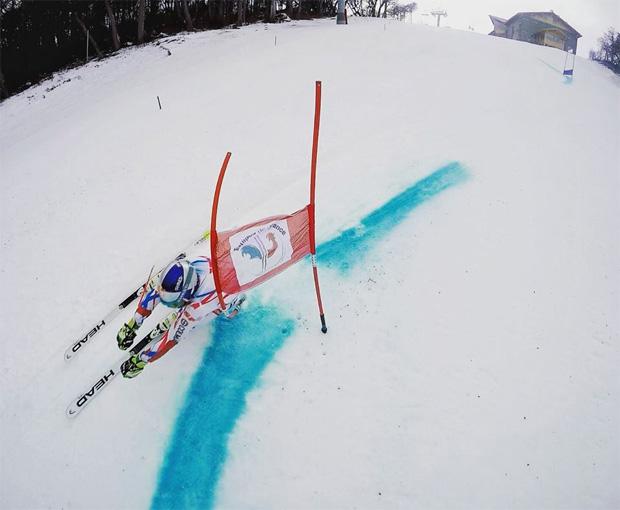 Alexis Pinturault genießt das Skifahren und die Natur (Foto: Alexis Pinturault / Facebook)