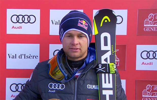 Alexis Pinturault auch beim Slalom von Val d'Isère mit Zwischenbestzeit