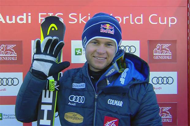 Alexis Pinturault gewinnt Alpine Kombination in Santa Caterina