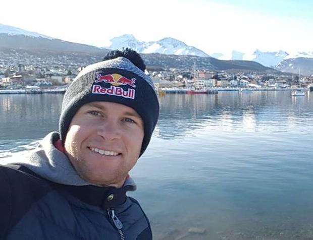 Alexis Pinturault grüßt aus Ushuaia, der südlichsten Stadt der Welt (Foto: Alexis Pinturault / Facebook)