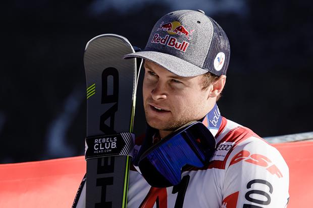 Alexis Pinturault und Anna Veith zu Gast im Hangar 7 (© Claudia Egger / Skiweltcup.TV)