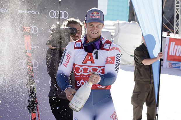 Alexis Pinturault stellte in Sölden seine Ansprüche unter Beweis (© Claudia Egger / Skiweltcup.TV)
