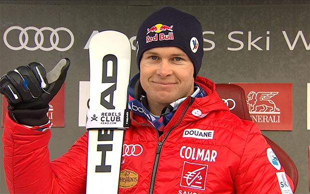 Halbzeitführung für Alexis Pinturault beim Heimslalom in Val d'Isère