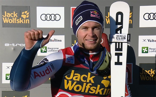 Alexis Pinturault gewinnt Alpine Kombination in Bormio