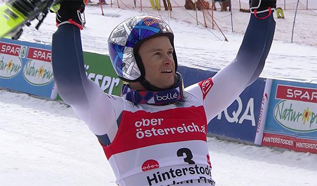 Alexis Pinturault gewinnt den Riesentorlauf von Hinterstoder und übernimmt Gesamtweltcupführung.