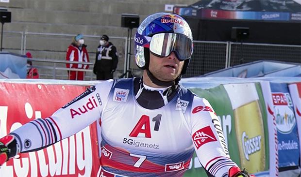 Der letztjährige Sölden-Sieger Alexis Pinturault wurde heuer entthront