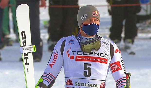 Alexis Pinturault feiert beim Riesenslalom von Alta Badia seinen 31. Weltcupsieg