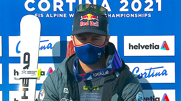 Alexis Pinturault übernimmt Führung beim WM-Riesenslalom in Cortina d'Ampezzo