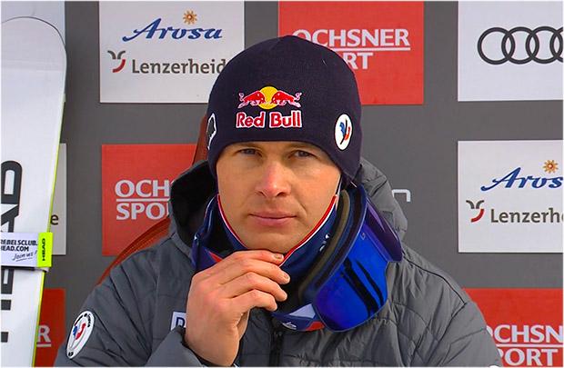 Alexis Pinturault übernimmt Führung beim letzten Saison Riesenslalom in Lenzerheide