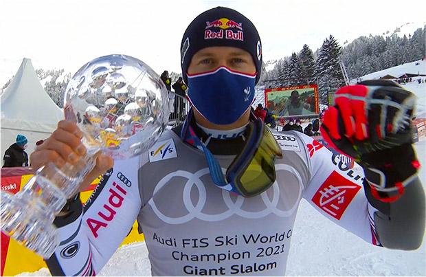 Alexis Pinturault gewinnt Riesentorlauf von Lenzerheide, Riesenslalom-Kristall und Gesamtweltcup