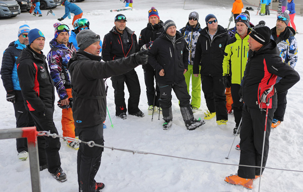 Erstes Skiweltcup Gipfeltreffen der Pistenchefs in Sölden (Foto: Ötztal Tourismus / Ernst Lorenzi)