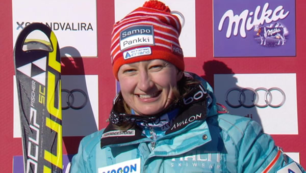 Tanja Poutiainen freut sich auf den neuen Cheftrainer