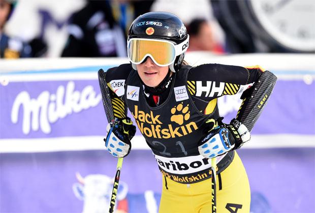 © Kraft Foods / Marie-Pier Préfontaine hängt Skier an den Nagel