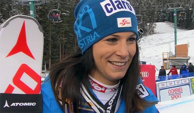 Mirjam Puchner beste ÖSV Dame in Lake Louise