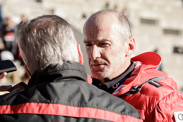 ÖSV-Herrencheftrainer Andy Puelacher nimmt historische Pleite sehr ernst. (© Claudia Egger / Skiweltcup.TV)