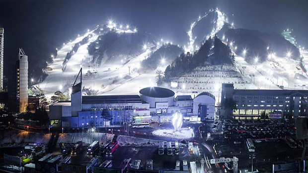 © FIS-Ski.com / Die Olympiageneralprobe in Südkorea ist 'ziemlich' fix