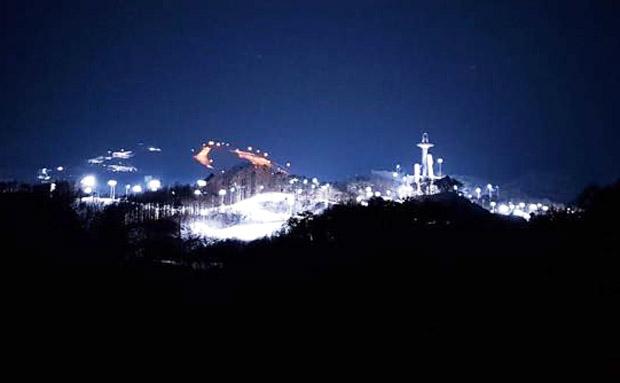 Wenn es Nacht wird über Pyeongchang trifft man sich im Kufenstüberl (Foto: Bap Koller)