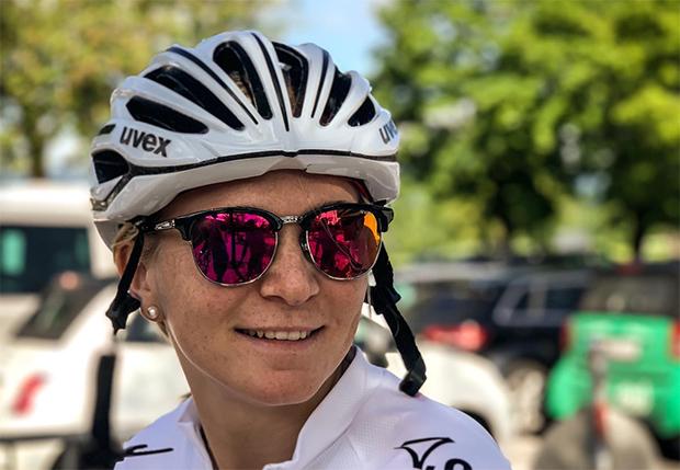 """Ariane Rädler im Skiweltcup.TV-Interview: """"Es gibt nichts Besseres als gute Freunde und eine intakte Familie!"""" (Foto: © Ariane Rädler / privat)"""