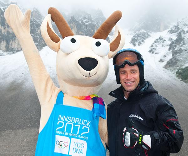 Benjamin Raich, Botschafter der Innsbruck 2012 Olympischen Jugend-Winterspiele