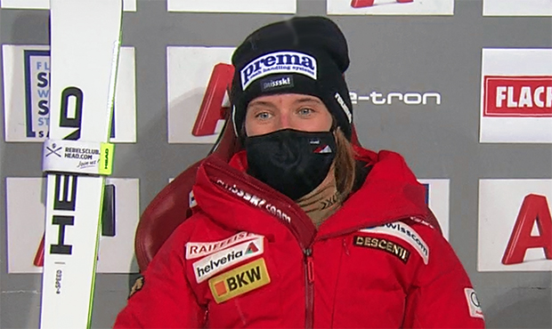Schweizer Meisterschaften: Riesenslalom-Gold für Camille Rast
