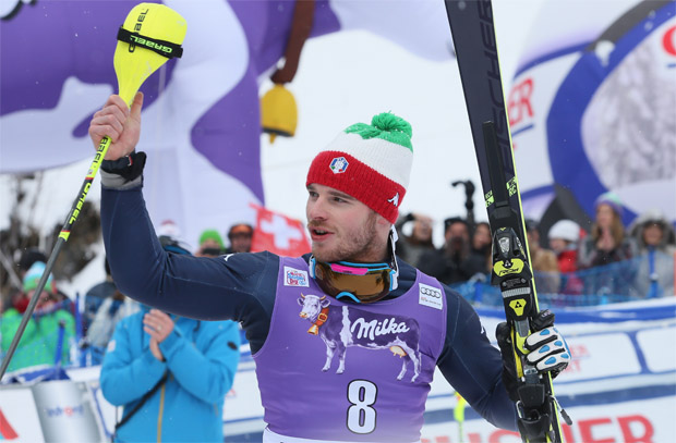 © Kraft Foods  /  Razzoli krönt alpines Ski-Wochenende mit Platz zwei in Wengen