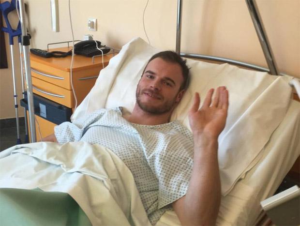 Operation gut verlaufen - Im Juli will Giuliano Razzoli wieder auf die Ski