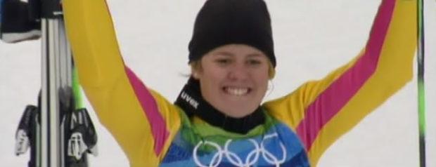 Riesenslalom Olympiasiegerin 2010: Viktoria Rebensburg