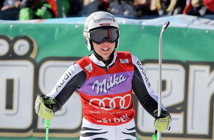 © Gerwig Löffelholz / Die Riesenslalom Weltcup Führende Viktoria Rebensburg