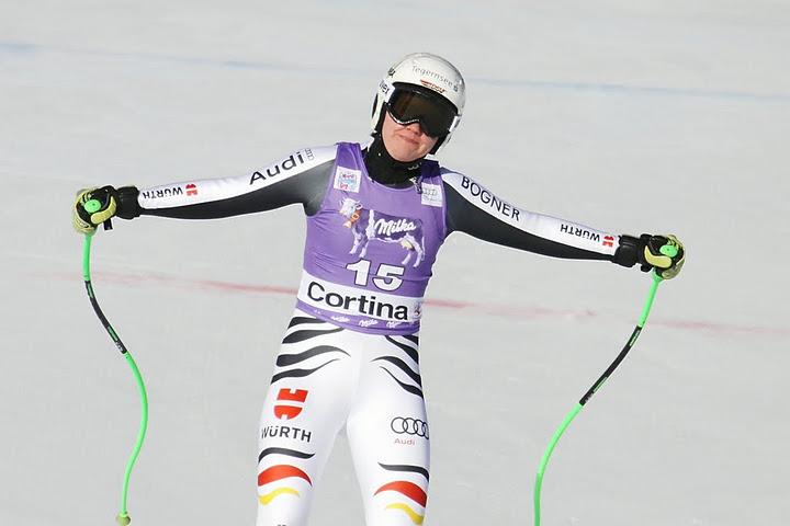 © Gerwig Löffelholz / Im Riesenslalom will Viktoria Rebensburg endlich wieder das Ziel sehen