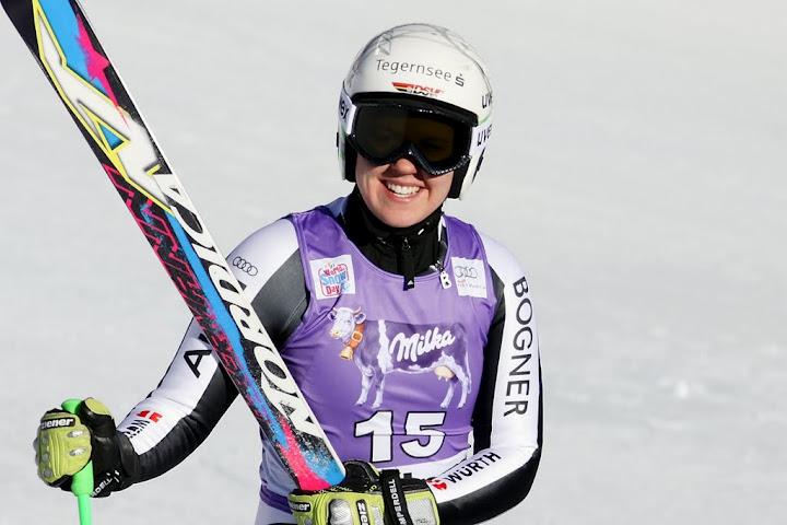 """© Gerwig Löffelholz / Viktoria Rebensburg: """"Ich bin gesund, fühle mich fit und möchte in Ofterschwang meine beste Skitechnik zeigen."""""""