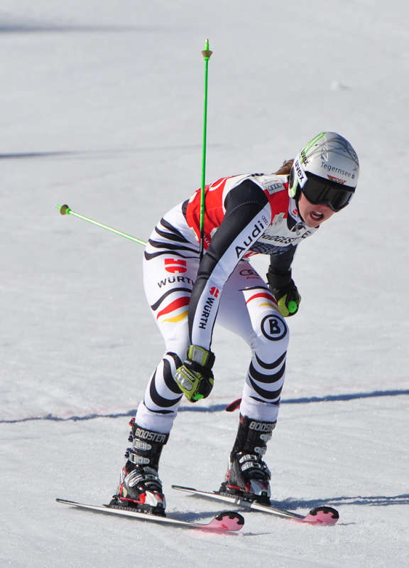 © Christian Einecke (CEPIX) / Mit dem Sieg hat Rebensburg nun gute Aussichten auf den erneuten Gewinn des Riesenslalom-Weltcups.