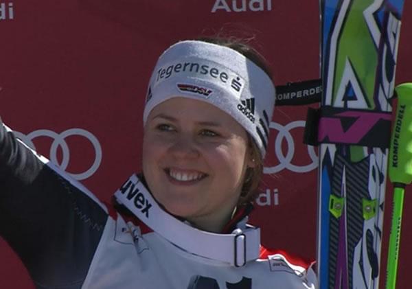 Riesenslalom Weltcupsiegerin Viktoria Rebensburg