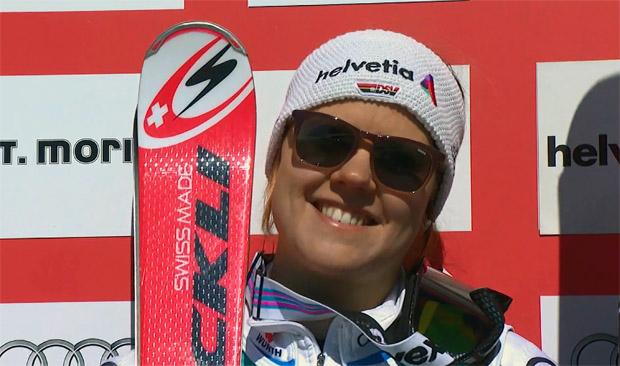 Viktoria Rebensburg gewinnt RTL in St. Moritz ...