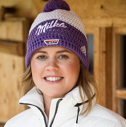 Bonnet ski milka