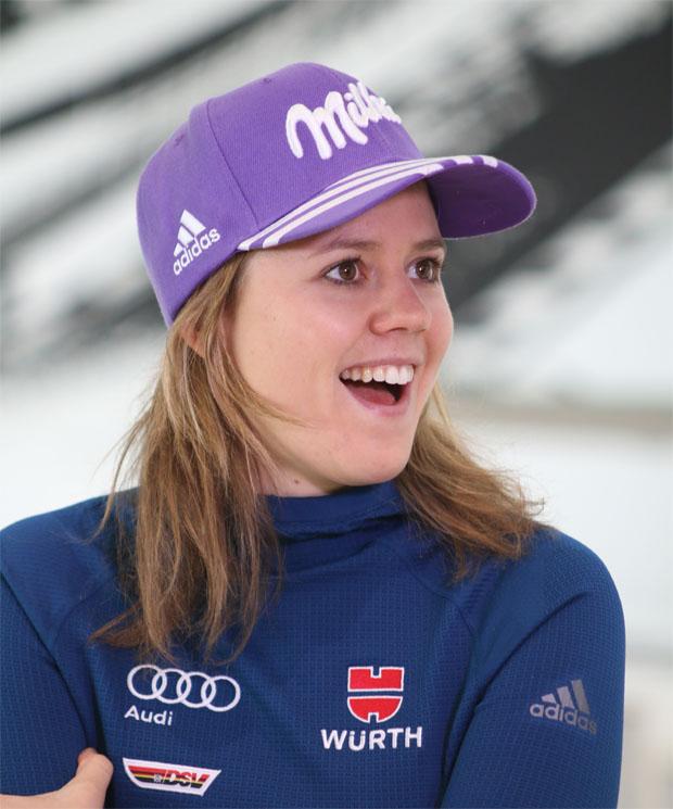 Viktoria Rebensburg, die größte DSV Medaillenhoffnung bei den Damen  (Foto: Karl Heinz Merl - Skiweltcup.TV)