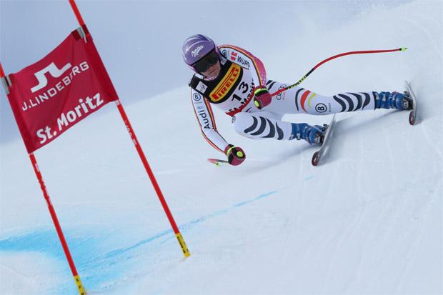 Viktoria Rebensburg und Kira Weidle bestritten heute erstes WM-Rennen aus DSV-Sicht
