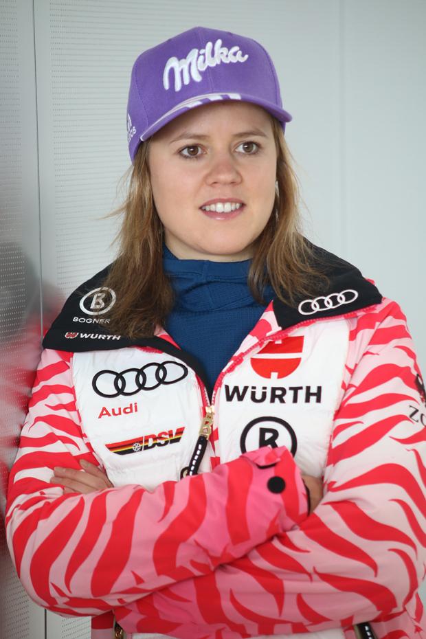 Viktoria Rebensburg! (Foto: Karl Heinz Merl - Skiweltcup.TV)