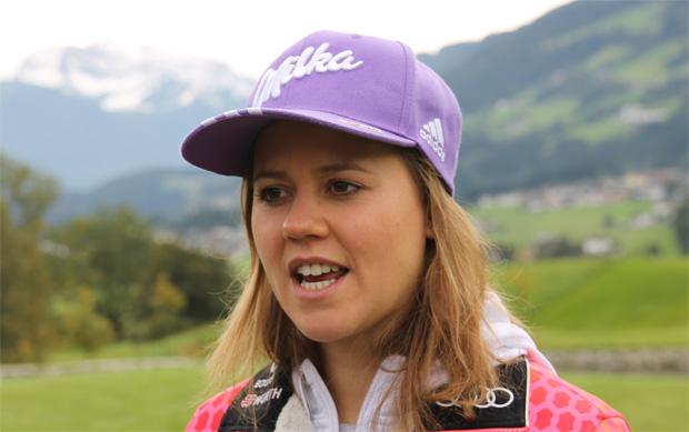 """Viktoria Rebensburg im Skweltcup.TV-Interview: """"Der Riesenslalom steht absolut an erster Stelle"""" (Foto: Walter Schmid / Skiweltcup.TV)"""