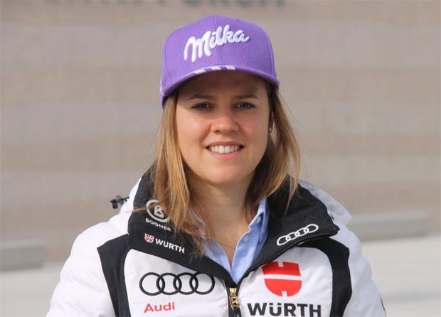 """Viktoria Rebensburg: """"Am Renntag muss alles zusammenpassen, damit am Ende ein positives Ergebnis rauskommen kann.""""  (Foto: Skiweltcup.TV / Walter Schmid)"""