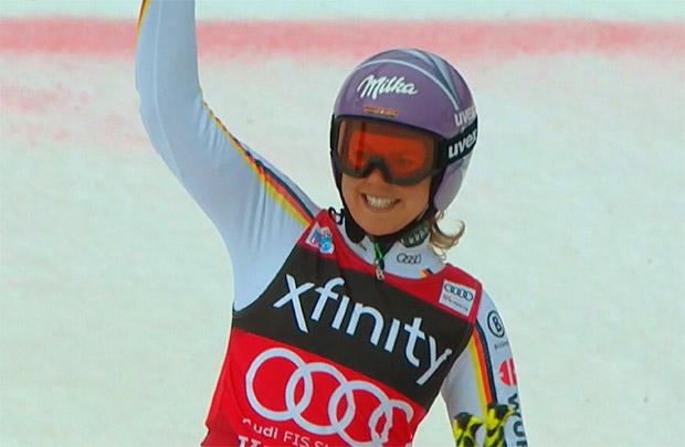 Für Viktoria Rebensburg gibt es viele Favoriten im Olympischen-Riesenslalom