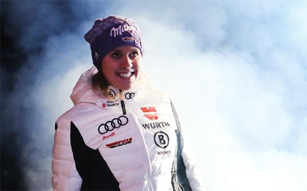 © Kraft Foods / Beim Riesenslalom am heutigen Freitag wird Viktoria Rebensburg mit der Startnummer 4 ins Rennen gehen.
