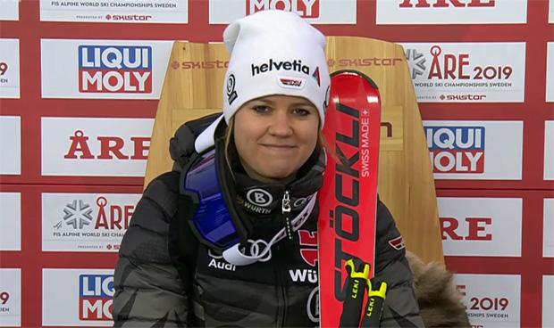 SKI WM 2019: Viktoria Rebensburg greift beim WM-Riesenslalom in Are nach Gold