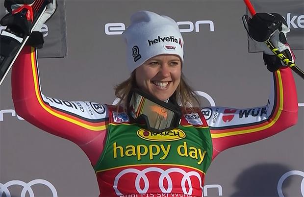 Heute vor 10 Jahren gewann Viktoria Rebensburg die Olympische Goldmedaille